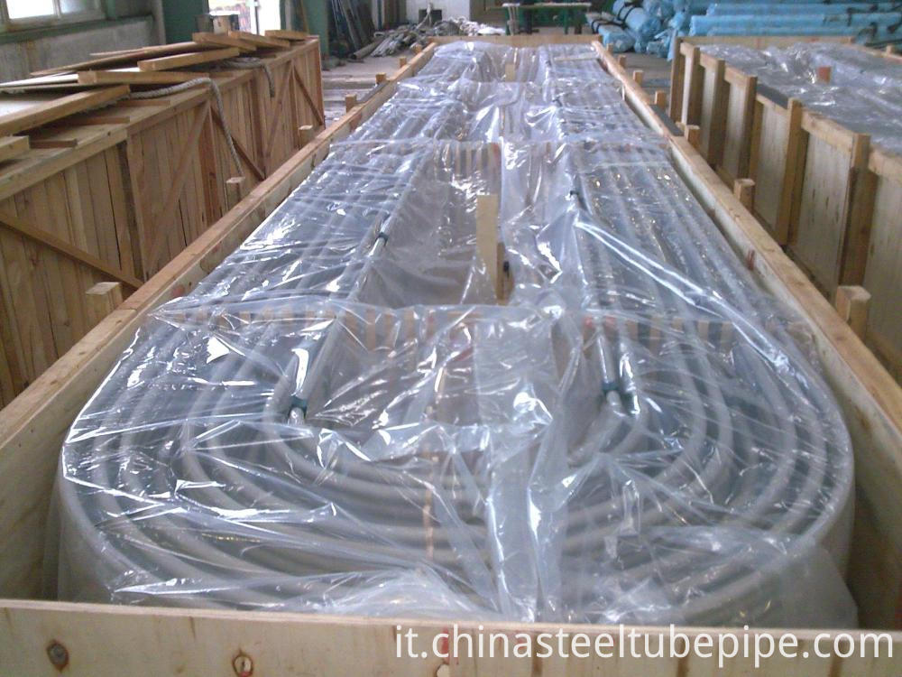 China Seamless Steel Tubes Sa213 U Tubes 714 2