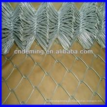 9 guage pvc revestido cadeia link wire mesh fence