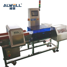 Food Processing Industry Online Checkweigher with Combo Metal Detector