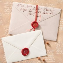 Wedding invitation sealing wax sticker