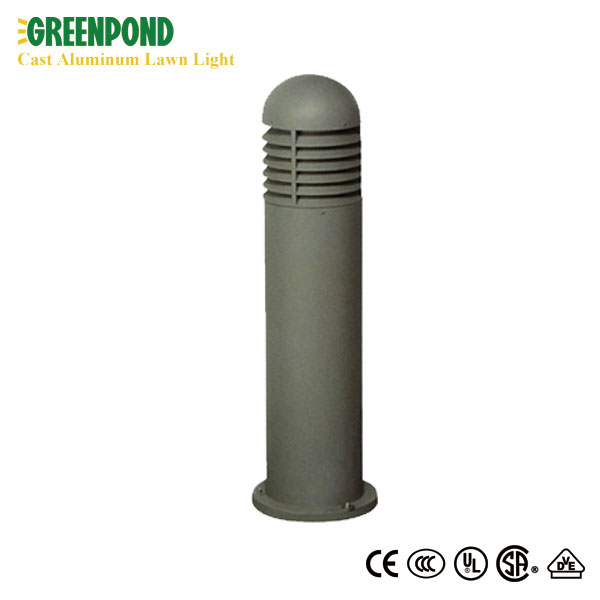 Aluminum Cylinder Courtyard Lawn Light