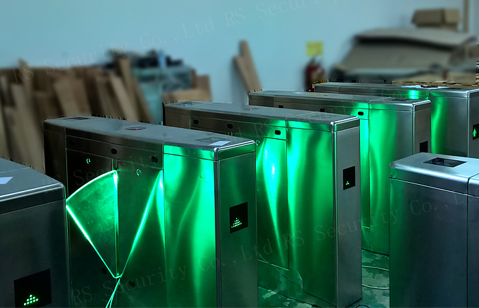 Flap Gate Optical Turnstile