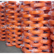 PU Foam Wheels Used in Wheelbarrow with 16inch 4.00-8 Straight Line