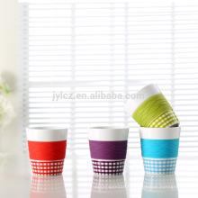 Tasse de 280cc avec la bande de silicone meilleur tasse de voyage de thé