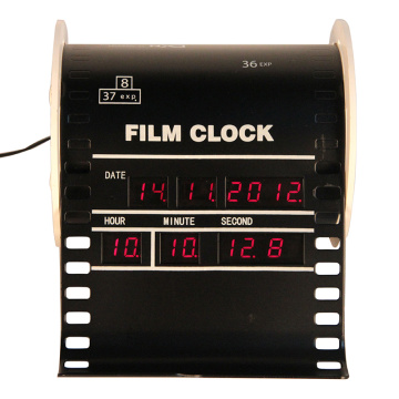Jam Digital Alarm Film Vertikal Mini