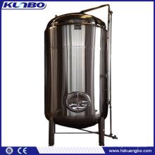 Réservoir de refroidissement utilisé de lait de réservoir de stockage d'acier inoxydable de machines de traitement des denrées alimentaires