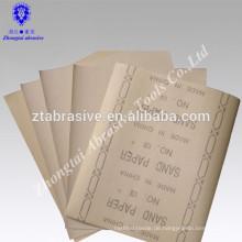 polieren Sie bambus artware Sandpapier