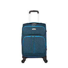 comfort handle fabric trolley bags convenient luggage case