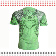 2016 New Design Custom Cotton Short Sport T-Shirts