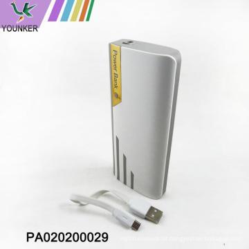 banco móvel popular do poder / banco portátil do poder com 20000mAh