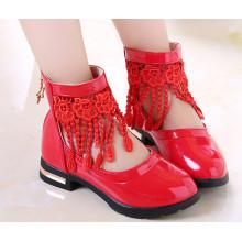 Menina Crianças Confortável Fancy Dress Shoes Kids Shoes