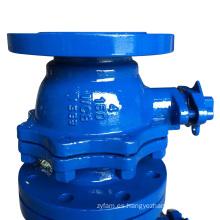 ANSI 2PC Válvula de bola de extremo de brida con extremo de brida RF