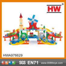 Panas penjualan plastik mainan kereta api trek