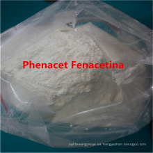 Drogas para aliviar el dolor Phenacet Fenacetina para reducir la fiebre CAS 62-44-02