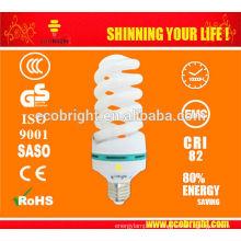 ¡CALIENTE! Luz 10000H CE calidad de ahorro de la energía de la espiral completo del 30W de la T4