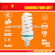 QUENTE! T4 30W completo poupança de energia espiral luz 10000H CE qualidade