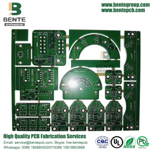 FR4 Tg135 Low Cost PCB 1.5oz BentePCB 2-layers