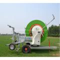 Sistema de máquina de riego de carrete de manguera Aquajet II