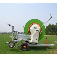 Система полива с катушкой для шланга для сельского хозяйства