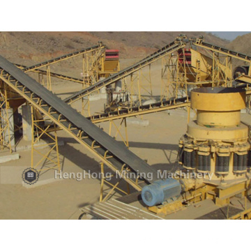 Curved Belt Conveyor for Mineral Conveying