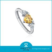 2016 neuesten Design personalisierte Kristall Ring (R-0176)