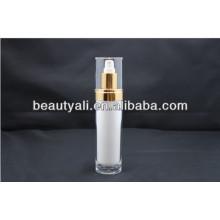 15ml 30ml 60ml 120ml Botella de acrílico redonda del empaquetado cosmético