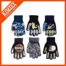 Gants de mode personnalisés en tricot acrylique
