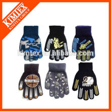 Acrylic knit custom fashion gloves