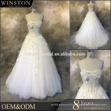 Nouveau design Custom Made guangzhou robe de mariée