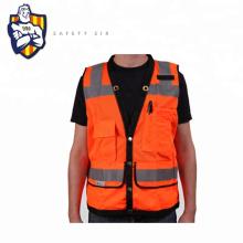 High Visibility Reflective Led Work Safety Vest