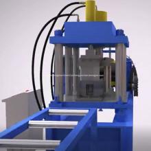 Máquina de formação de rolo de canal de aço 41x21
