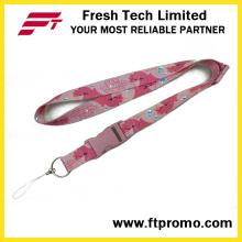 Fabriqué en Chine avec le cordon de polyester le moins cher avec votre logo