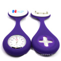 2016 New Design Nurse Silicone Brooch Watch