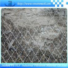 Malla de cadena hexagonal de vértice