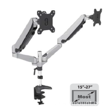 "Dual Screen Desktop Mount para 10 ""-27"" Monitor de alumínio"