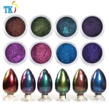 Pigmento efecto camaleón efecto pigmento / pigmento chromashift para esmalte de uñas pintura automática