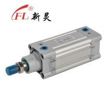 Cilindros neumáticos telescópicos de alta calidad de la buena calidad de la fábrica