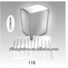 Agulha de perfuração G11 316L inox