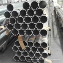 Tubería de aleación redonda de aluminio 6060 T6 para recipiente a presión