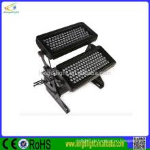 Pro-Architektur-Beleuchtung-Ausrüstung IP65 im Freien wasserdichte doppelte Plattform LED-Stadt-Farbe RGBW 192 * 3w LED-Wand-Unterlegscheiben-Licht