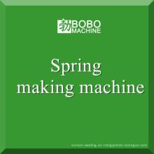 Primavera máquina de bobinado de primavera que hace la fabricación de la máquina
