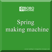 Fabrication de machines à ressort à ressort