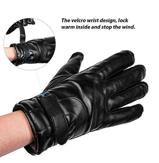Frizzled Feather Electric Shock Gloves