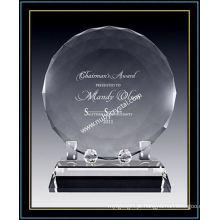 "Placas de disco de cristal facetado Award para Singer 6 ""dia (NU-CW722)"