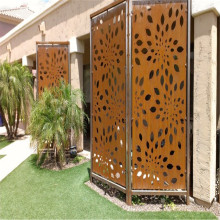 Decorative Metal Screen Patterns Corten Steel Sheet