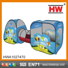 New Design Indoor And Outdoor Kids Blue Insect Tunnel Tent