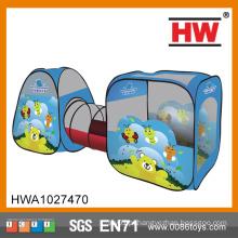 Novo Design Indoor e Outdoor Kids Blue Tunnel tenda do inseto