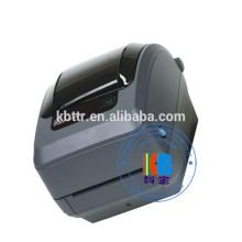 Impressora térmica da área de trabalho da impressora da etiqueta de código de barras da zebra GK430t do Ethernet do USB