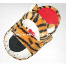 Pelúcia brinquedo chinelo sapatos de pelúcia tigre (tf9724)