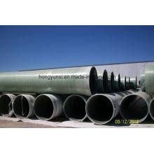 Arena de fibra de vidrio que agrega el tubo para el abastecimiento de agua